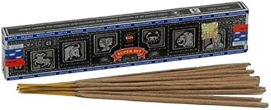 Satya Super Hit Incense Sticks - 100 Gram Packet - Bulk Box - Fresh Shipment