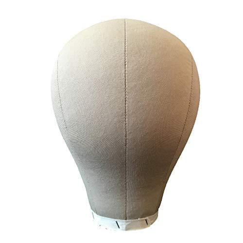 SM SunniMix Modèle de Tête Mannequin de Chapeau de Perruque d'Écharpe de 21'' / 22'' / 23'' / 24'' - 24 Pouces