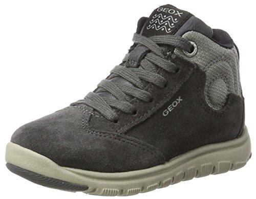 Geox Jungen J Xunday Boy D Hohe Sneaker, Grau (Grey/Lt Grey), 30 EU