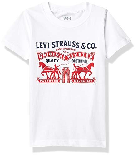 Levi's Camiseta para niño Two Horse Pull Graphic