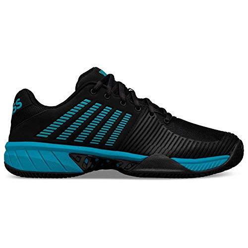 K-Swiss Performance Zapatilla Express Light 2 HB, Scarpe da Tennis Uomo, Nero/Blu Algeri, 39 EU