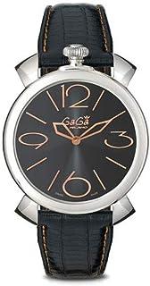 Gaga' Milano - Reloj Analógico para Mujer de Cuarzo con Correa en Cuero 5090-02 BK