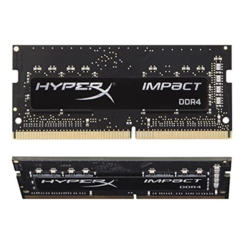 Kingston FURY Impact 16 (2x8GB) 3200MHz DDR4 CL20 Memoria Laptop Kit da 2, KF432S20IBK2/16