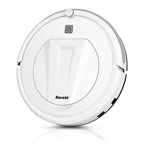 Amrobt Robotic Vacuums for Floor 1200pa Robot Vacuum and Mop,Super Slim,Multiple Cleaning for Pet Hair,Hard Floor to Carpets Dining Features Kitchen Robotic Vacuums