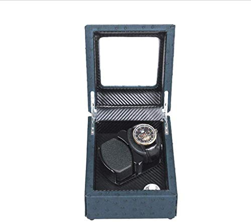 LJYY Enrollador de Reloj, Caja de bobinado automático de Reloj mecánico 2 + 0 epítopo, Caja de Almacenamiento de Reloj de Alta Gama/agitador de Reloj