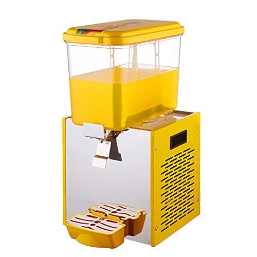 yunyun Máquina De Granizado Comercial,Cilindro Único Caliente Y Frío Dispensadores De Bebidas Profesionales,automático Translúcido 18L Máquina De Bebidas Comercial Zumo