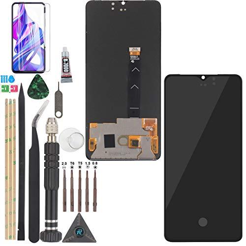 YWL-OU AMOLED para Realme X2 Pro LCD Display Touch Pantalla y Digitalizador de Pantalla Táctil con Herramientas (Negro)