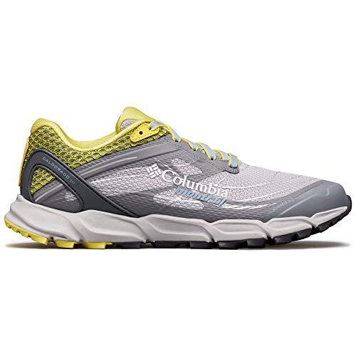 Columbia Caldorado III, Zapatillas de Running para Asfalto Mujer, Azul (Slate Grey, Dar 099), 39 EU