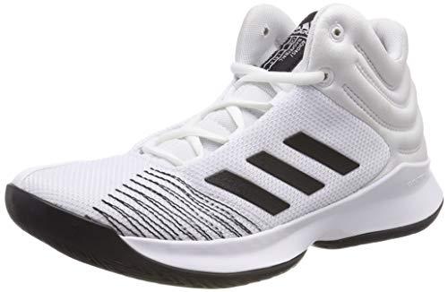 Adidas Pro Spark 2018 K, Zapatillas de Deporte Unisex niño, Blanco (Blanco 000), 29 EU