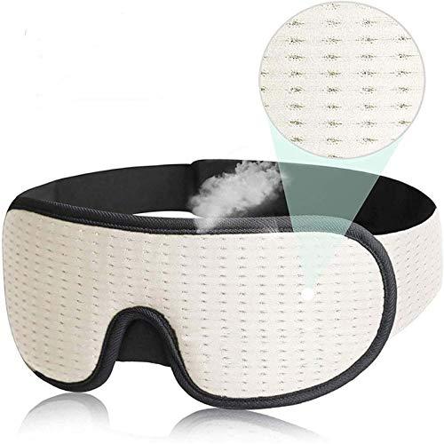 LDL Blindfold, Neue 3D-Schlaf Augenmaske Shading-Film, verwendet, um die Augenmaske auf die Augenmaske mit einem weichen Verband Wickeln, schlafen Hilfe Reise Augenmaske, Schlafmaske, licht-