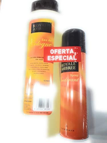 Colonia royal ambree 750 ml +regalo desodorante 250 ml