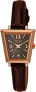 Watch for Women by OMAX, Leather, Analog, OMKC61326Q0D