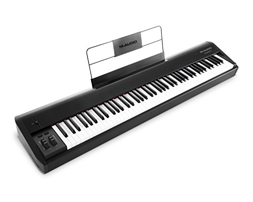 M-Audio Hammer 88 - Premium 88-Key Piano-Style Hammer-Action USB/MIDI Keyboard Controller Including...