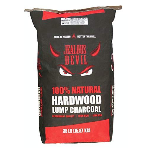 Jealous Devil All Natural Hardwood Lump Charcoal (1 Pallet 35lb Bags (44 Bags))