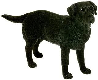 The Leonardo Collection Leonardo Collection Labrador Ornament Dog, Stone, Black