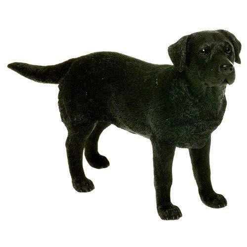 Leonardo Collection Labrador Ornament Hund, Stein, Schwarz