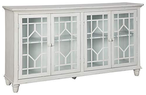 Signature Design by Ashley - Dellenbury Accent Cabinet - Vintage Casual - White
