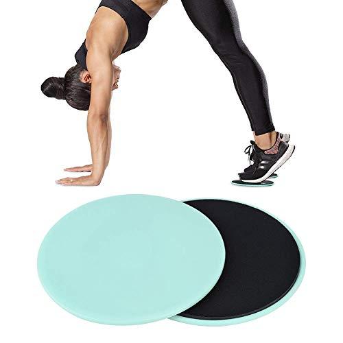 Disco deslizante móvil auxiliar de yoga, entrenamiento completo, Fitness, entrenamiento de núcleo abdominal, almohadilla de equilibrio, placa de equilibrio ABS, 2 uds.