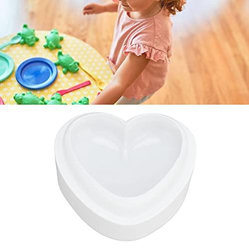 Molde para pasteles en forma de corazón, molde para pasteles en forma de corazón de silicona DIY sin BPA para hacer postres para regalos
