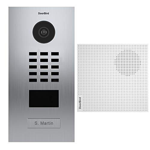 doorbird–Kit d2101V + a1061W–Videoportero (IP Lector de Tarjetas RFID + Timbre
