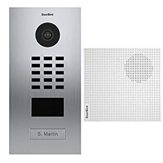 Doorbird – Kit D2101V + A1061W – IP-Video-Türsprechanlage RFID-Ausweisleser + Türklingel (B07BYWHB4V) | Amazon price tracker / tracking, Amazon price history charts, Amazon price watches, Amazon price drop alerts