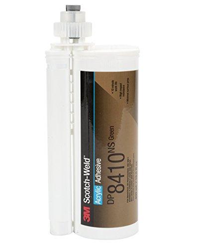 3M Scotch-Weld Acrylic Adhesive DP8410NS, Green, 45 mL Duo-Pak