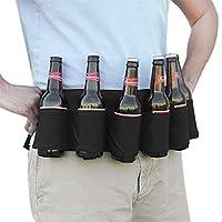 Cette ceinture de bière est parfait pour le camping,voyage,plage,pique-nique,pêche,chasse ,randonnée,les fêtes, le festival et les autres activités en plein air. Fabriqué en nylon de haute qualité,la ceinture de bière est solide et durable,résistante...