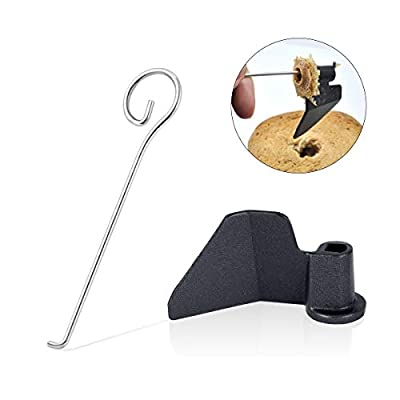 AIEVE Bread Maker Paddle, Kneading Blade with Bread Machine Paddle Removal Tool for Hamilton Beach Cuisinart Zojirushi Oster Panasonic Bread Maker Bread Machines Parts