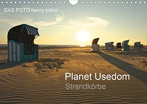Planet Usedom Strandkörbe (Wandkalender 2021 DIN A4 quer)