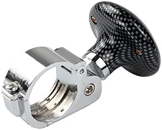 wonofa Universal Vehicle Car Steering Wheel Spinner Knob/Power Handle Ball Handle Grip Spinner Knob Grip Knob Turning Helper Silver
