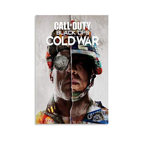 LOPOA Cod Cold War - Poster artistico da parete, stampa artistica da parete, 20 x 30 cm