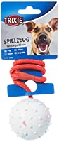 No way to choose colour. A toy that can be chewed, pulled, thrown Ideal tool to provide your pet with mental and physical stimulation Made from natural rubber and has a rope handle Excellent for puppies to help strengthen their young jaws