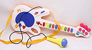 Ngel Guitar Musical Toy with Microphone (Color May Vary)