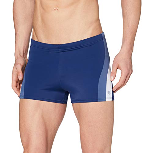 Schiesser Herren Bade-Retro Shorts, Blau (Navy 815), 5
