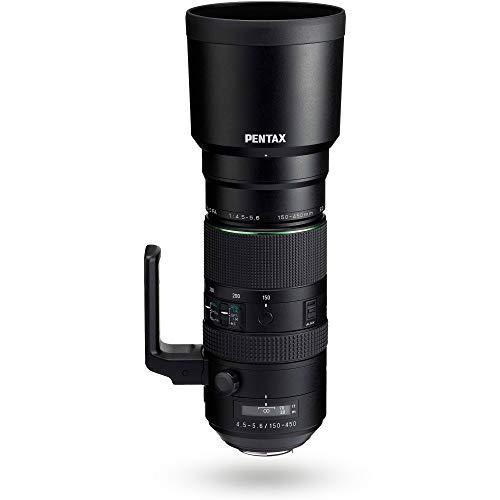HD PENTAX-D FA 150-450mmF4.5-5.6ED DC AW Superobjetivo Zoom Lo último en tecnología óptica Imágenes de Alta resolución sin Reflejos ni Efecto Fantasma Construcción Resistente a la Intemperie