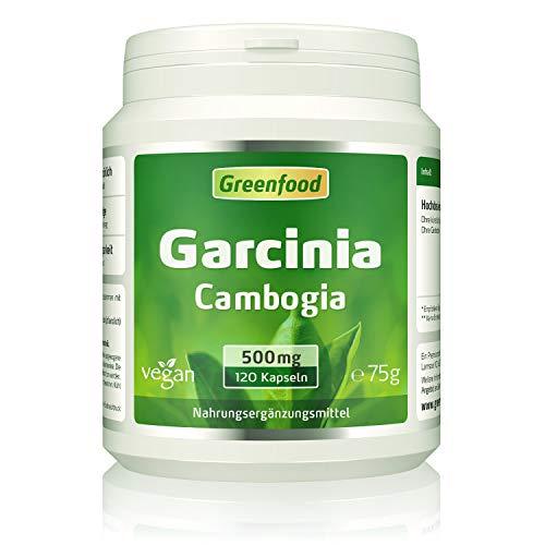 Garcinia Cambogia pur, 500mg, hochdosierter Extrakt (60{c220b249a515eba1d9a6b6c453d5788a2f6821bda19fe4454ad54213b8bec611} HCA), 120 Kapseln, vegan – OHNE Zusätze. Ohne Gentechnik. Glucosefrei. Lactosefrei. Vegan.