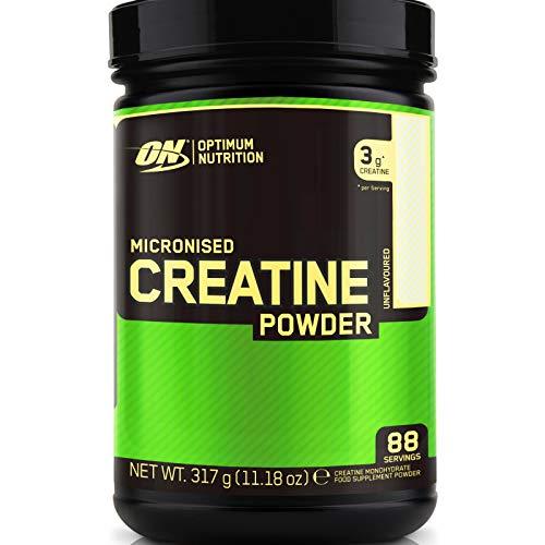 MICRONIZED CREATINE MONOHYDRATE POWDER 317g | Nicht aromatisiertes anaboles Pulver für das Wachstum der Muskelmasse