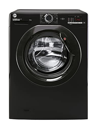 Hoover H-Wash 300 H3W592DBBE 9KG 1500RPM Black Freestanding Washing Machine