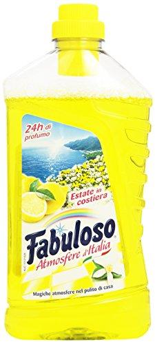 Fabuloso - Detergente per la Pulizia della Casa, Profumo di Estate in Costiera, 1 l