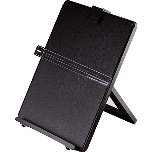 Fellowes Letter Sized Non-Magnetic Copyholder, Black (21106)