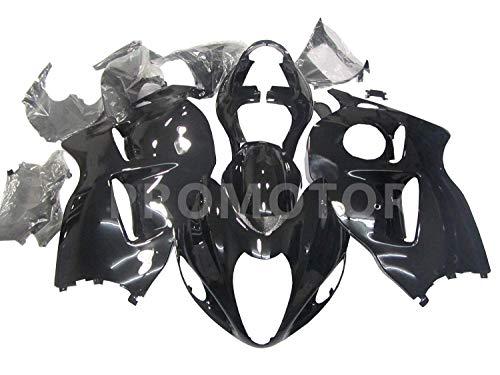 ZXMT Fairing kit ABS Bodywork for HAYABUSA Suzuki GSXR 1300 HAYABUSA 1999 2000 2001 2002 2003 2004 2005 2006 2007 Gloss Black - (Pieces/kit: 19)
