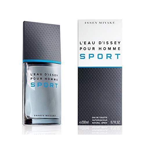 Issey Miyake L'Eau D'Issey Homme Sport Eau de Toilette Vaporizador 200 ml