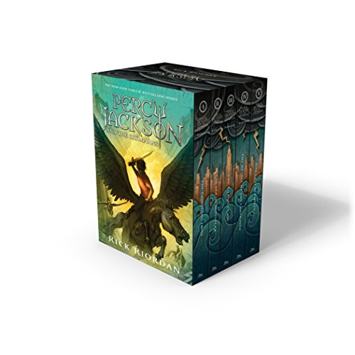 Percy Jackson and the Olympians Hardcover Boxed Set