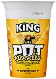 Pot Noodle Original Curry Flavour, King Pot Size, Quick Filling Food, Tasty And Time Saving Snack,...