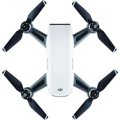 DJI Spark Portable Mini Drone, Alpine White