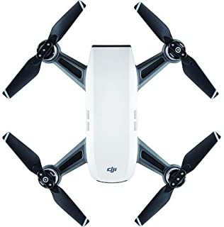 DJISpark Quadcopter, Full HD With 2 Axis Gimbal, Alpine White