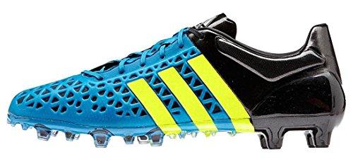 adidas-Mnner Ace 15,1 Fg/ag Firm Ground/Kunstrasen FuÃ?ballschuh 7 Us, Solar Blue/gelb/sch