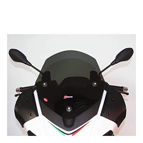 Faico Windblende, Maxi-Scooter, für Aprilia 125 SR Max 2012+, 300 SR Max 2012+, Dunkelviolett (H 455 mm – L 430 mm)