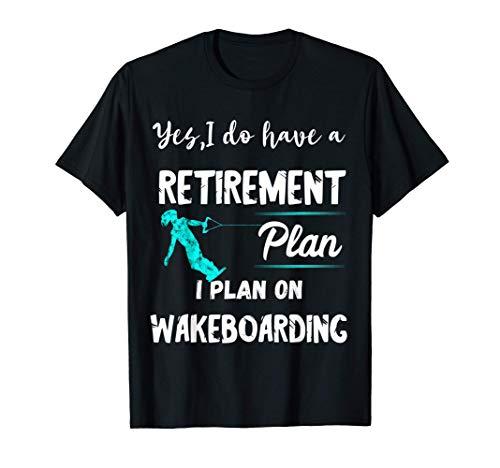 Wakeboarden Wasserski Wakeboard Wassersportler Wakeboarder T-Shirt