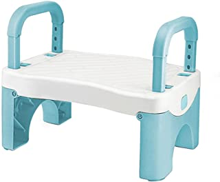 Folding Step Stool for Kids, Toddler Stool with Handle, Toddler Step Stool for Boys and Girls, Suitable for Bathroom Sink,...